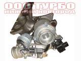 Турбокомпрессор 53039880105, турбина на Audi A6, Skoda Octavia II